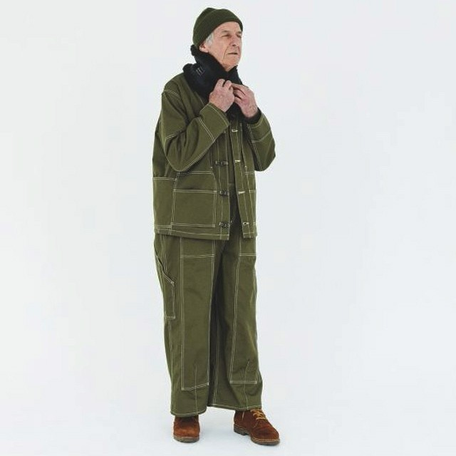 THE NERDYS / PAINTER Jacket[Olive]