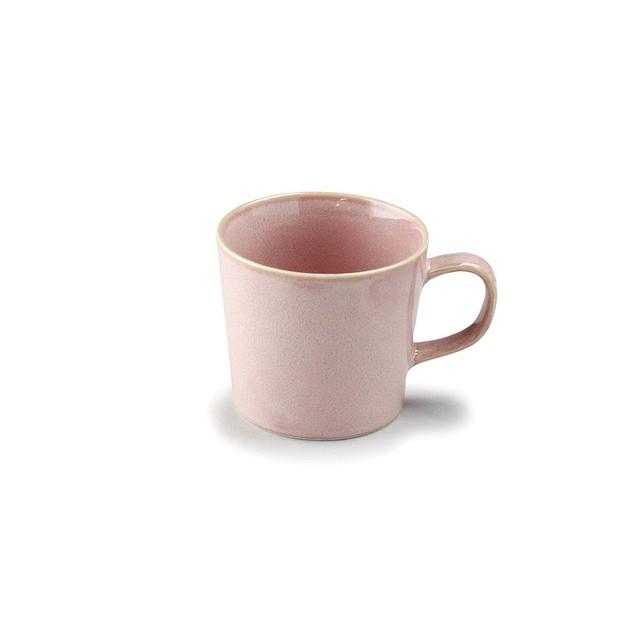 「ナチュラルカラー Natural Color」スタンダード マグカップ 320ml ピンク 美濃焼 517066