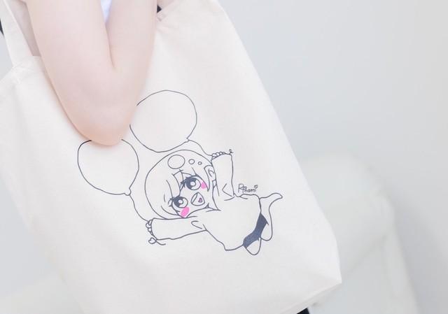 璃波オリジナルトートバッグ(designed by 璃波)