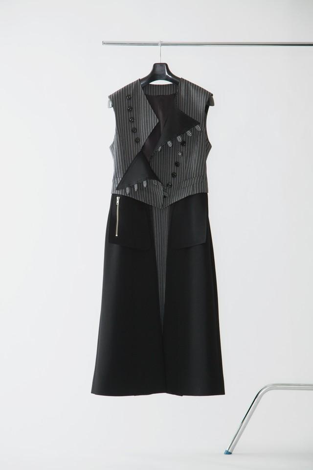 【FW20 先行受注】alternate vest