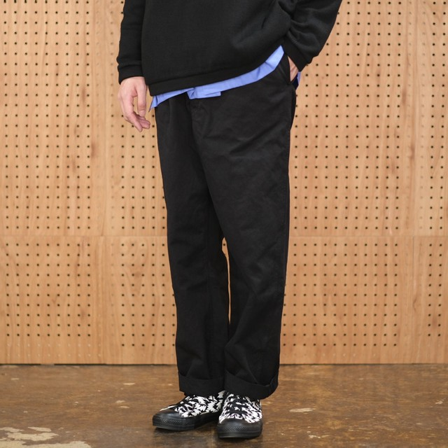 French Army(フランス軍)1960s M-52 Chino Pants DEAD STOCK -Black (Over Dyed)-