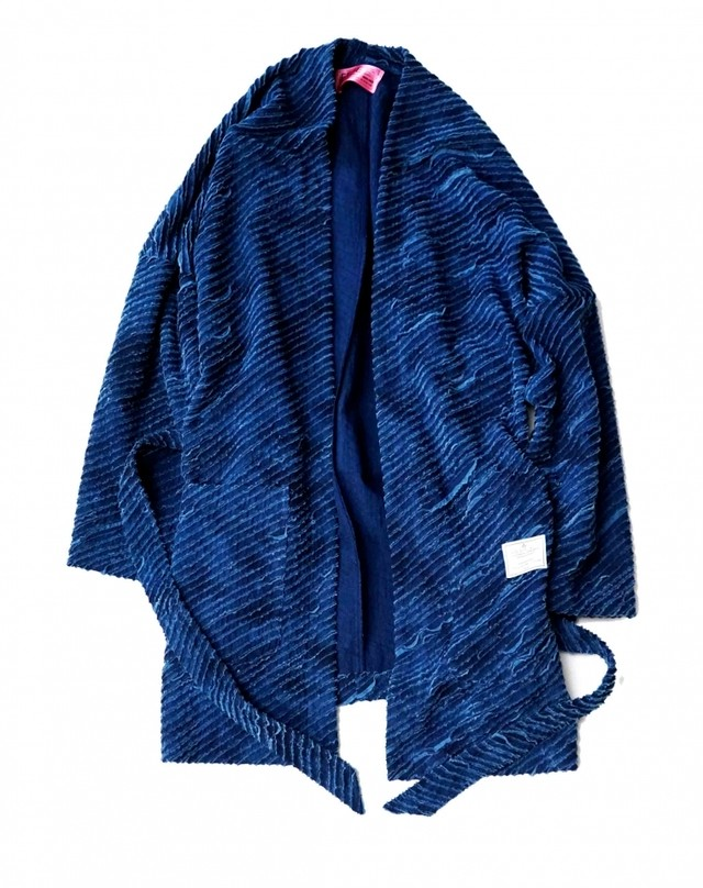 EFFECTEN/エフェクテン 'Skull'Shop coat(indigo)