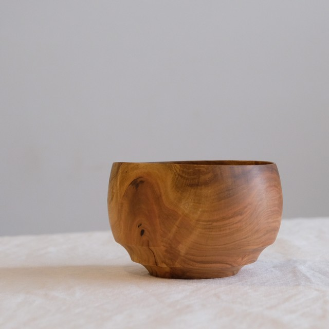 イイダウッドターニング iiDA Woodturning  お椀  サクラ  i-002