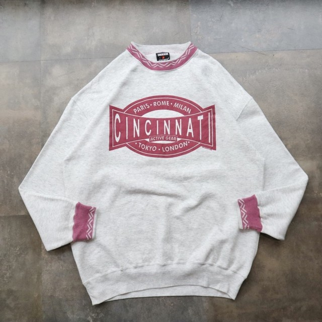 made in USA retro design sweat