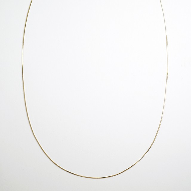 Legato long necklace(gold)