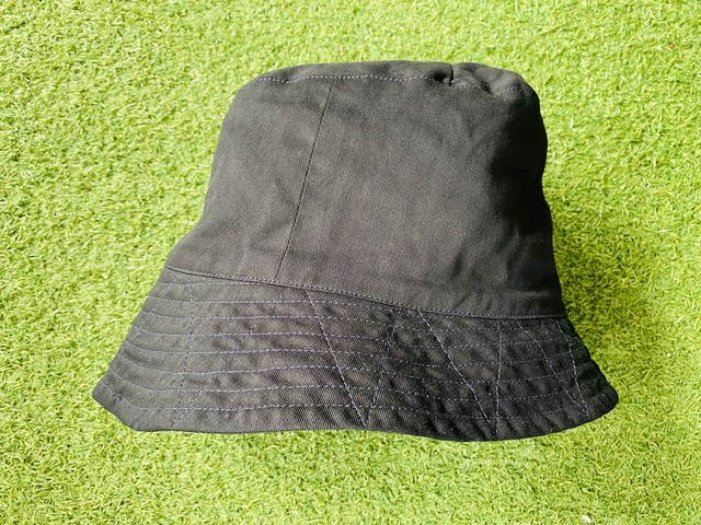 ENGINEERED GARMENTS Bucket Hat Cotton Double Cloth BLACK MEDIUM 40JF6952