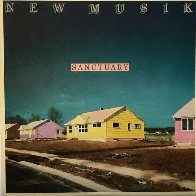 【LP・米盤】New Musik  / Sanctuary