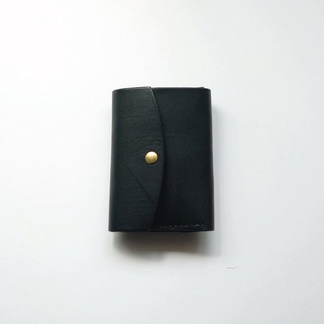 tri-fold wallet - bk