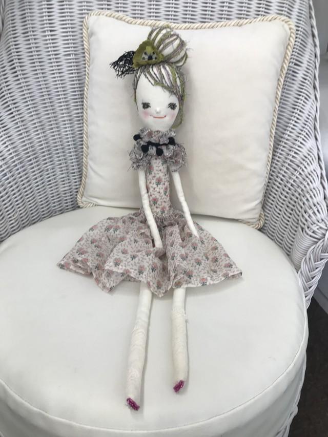 編みぐるみピンク