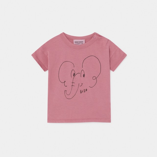 《BOBO CHOSES 2020SS》Elephant T-Shirt / 6-36M