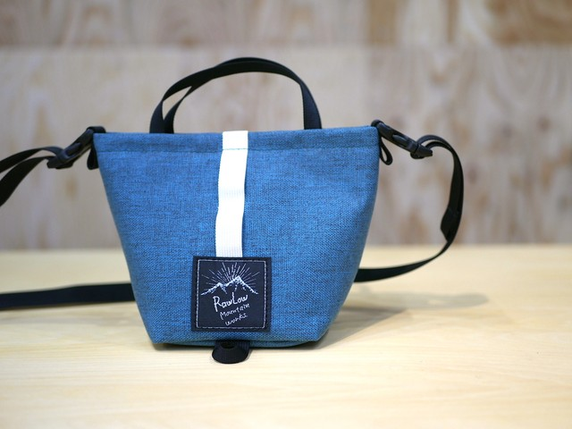 RAWLOW MOUNTAIN WORKS / TIBITIBI TOTE (TURQUOISE BLUE)