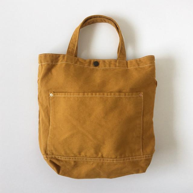 コットントートバッグ イエローオーカー Cotton Tote Bag Yellow Ocher