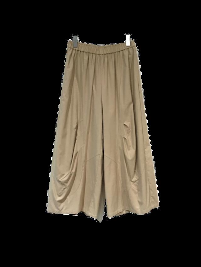 【最新作】バルーン風タックデザインパンツ【210-6198】