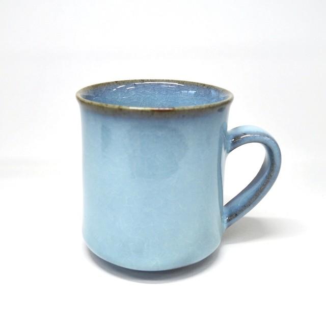 貫入青磁角マグカップ