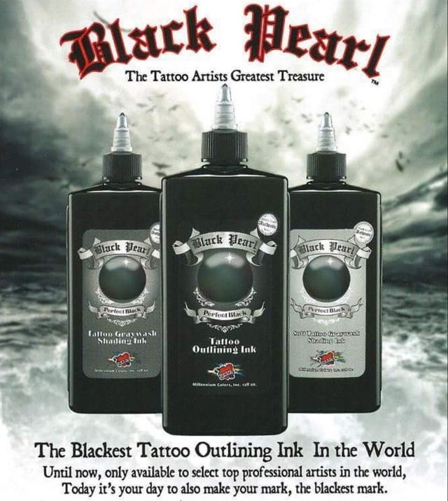 "Mom's ink ""Black Pearl"" The 3 Black set."