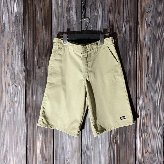 [Dickies]one point beige half pants