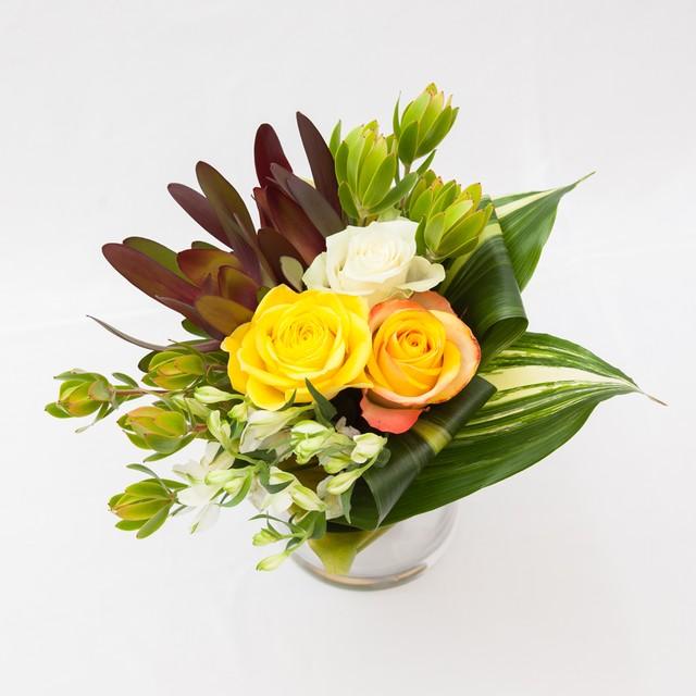 そのまま飾れるサマーローズ花瓶付