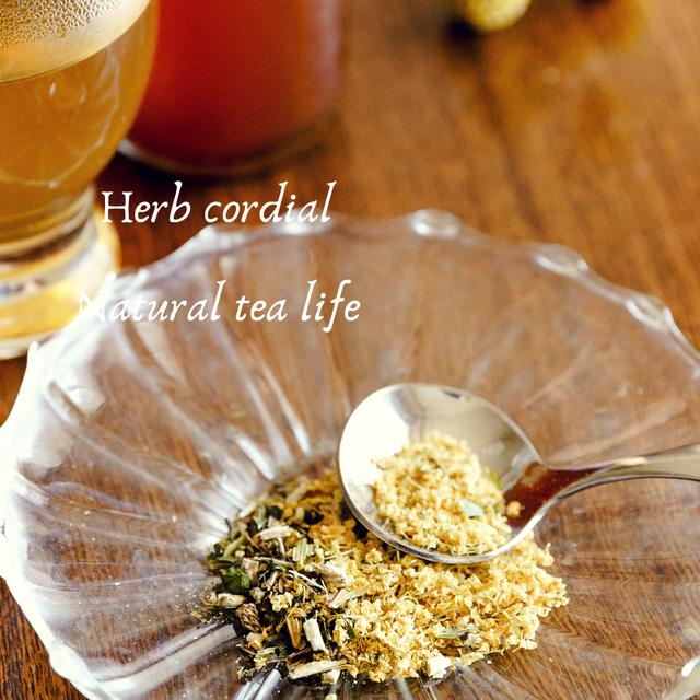 ハーブコーディアル茶葉キット「エルダーフラワー&エキナセア」