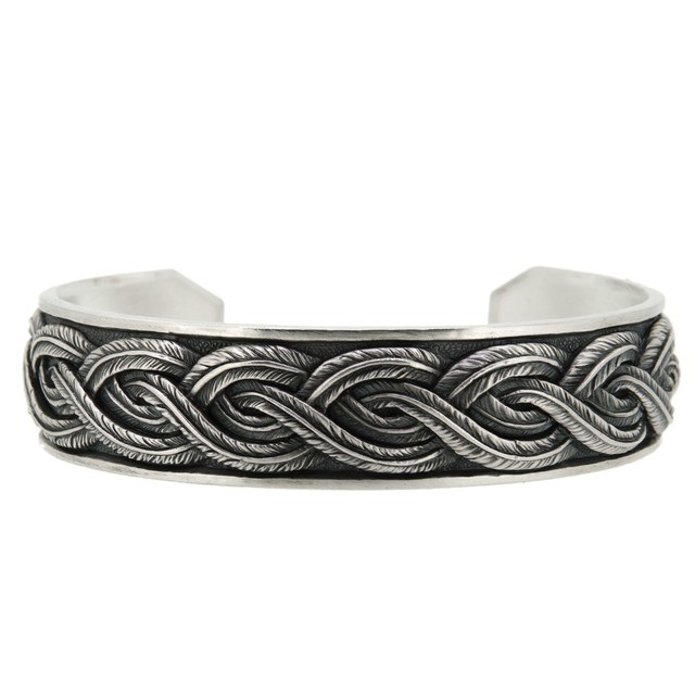 flow of feather bangle L / DFB-36