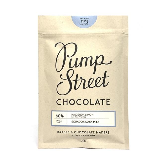 パンプストリートベーカリーチョコレート エクアドル ダークミルク60%