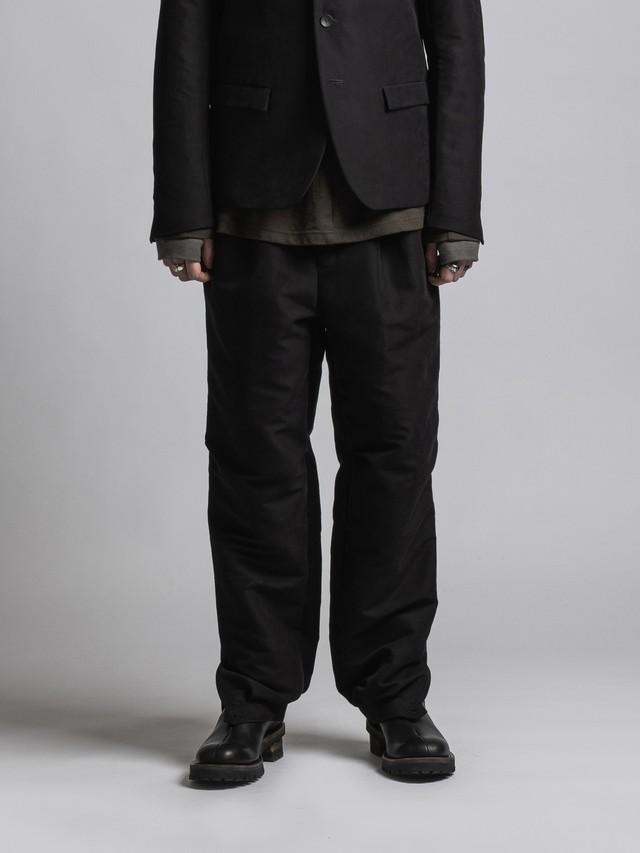 VI-3382-04 / 撥水加工モールスキン裾カフスパンツ