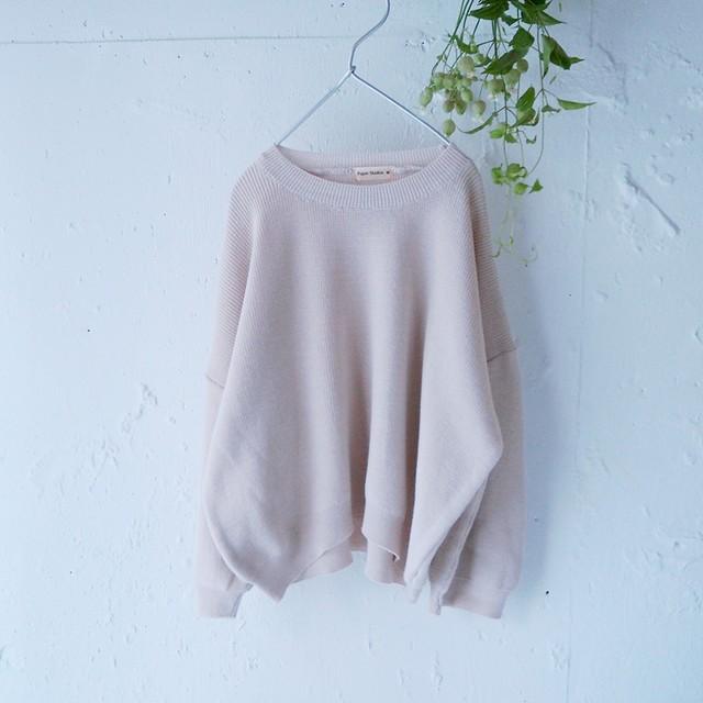 «即納» knit ドロップショルダーニット