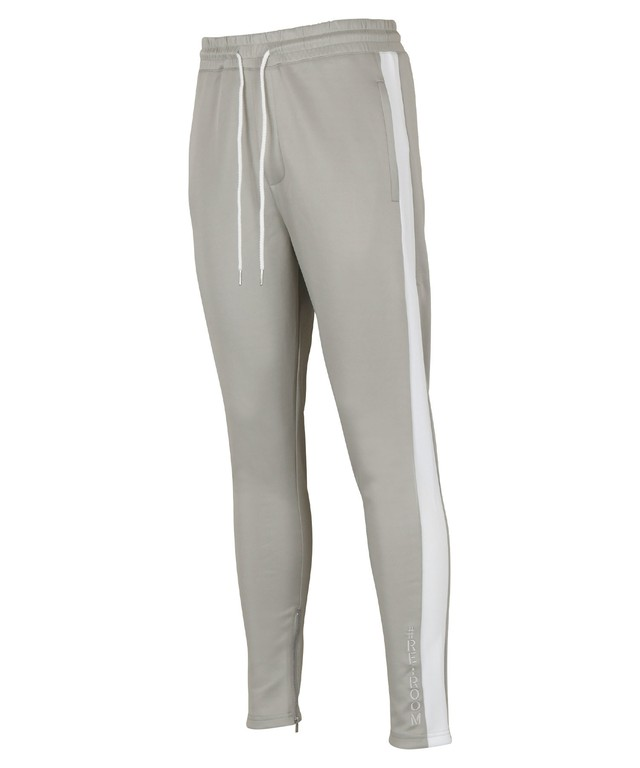 SIDE LINE STRETCH SKINNY ZIP PANTS [REP123]