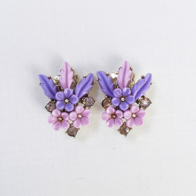 vintage earrings 744