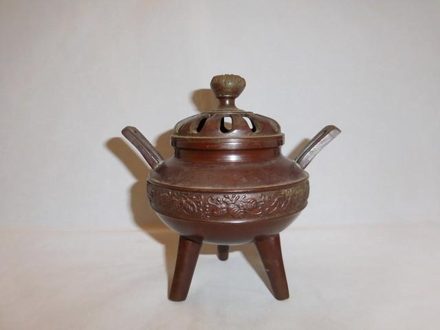 香炉 metal incense burner