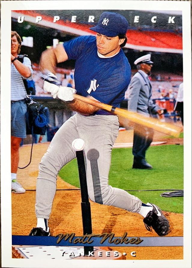 MLBカード 93UPPERDECK Matt Nokes #116 YANKEES