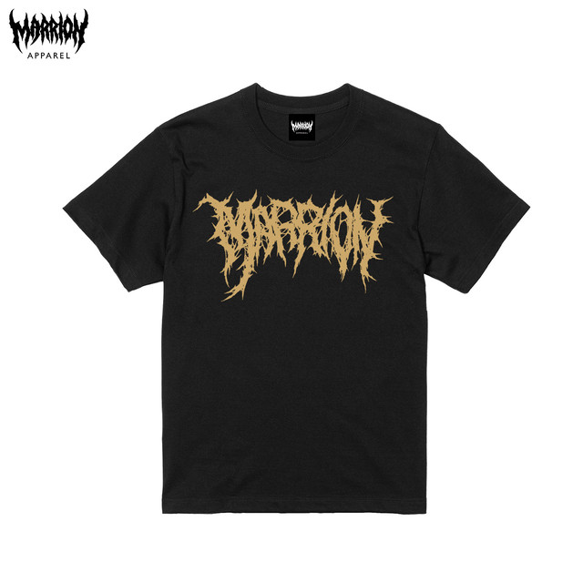 "Killer ""MARRION"" Logo Tee (Logo Gold)"