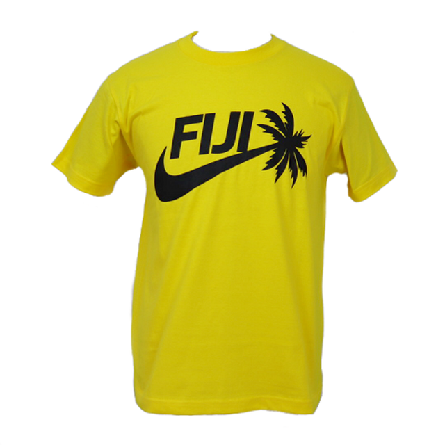 【YBC】Fiji 2019 T-Shirts Yellow × Black