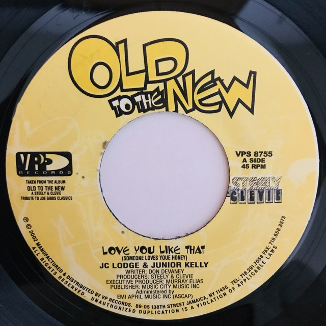 Jc Lodge & Junior Kelly - Love You Like That【7-10973】