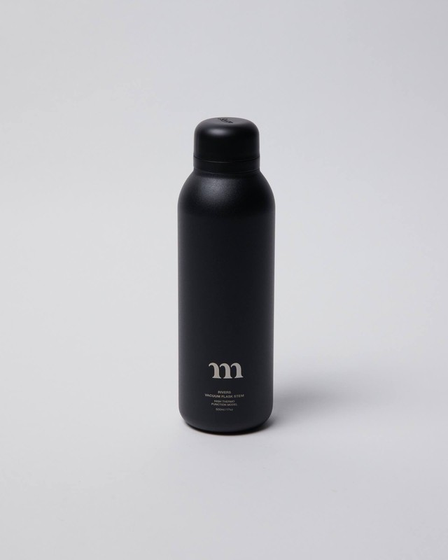 "muraco ムラコ ""m"" STAINLESS BOTTLE(BLACK)"