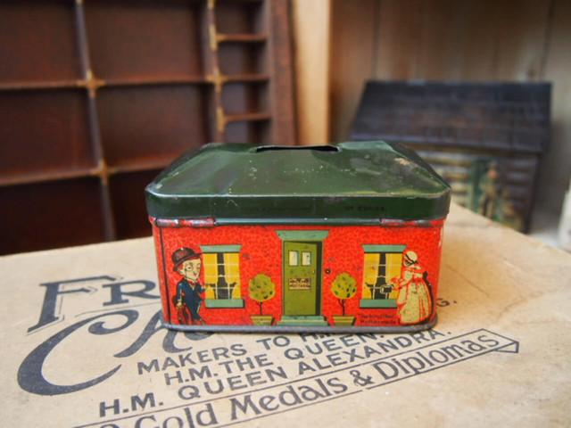 イギリスアンティーク トフィー缶