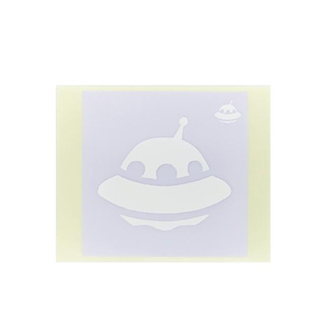 [テンプレートシール]  UFO (10枚入)