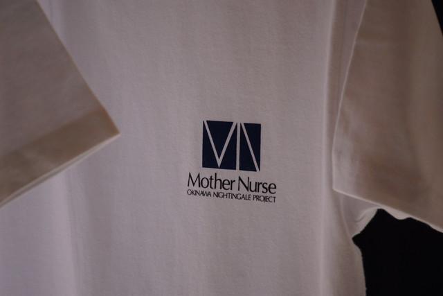 Mother NurseロゴTシャツ Type-B ホワイト