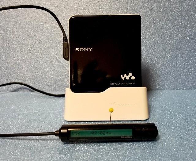 MDポータブルレコーダー Panasonic SJ-MR220 MDLP対応・完動品♪