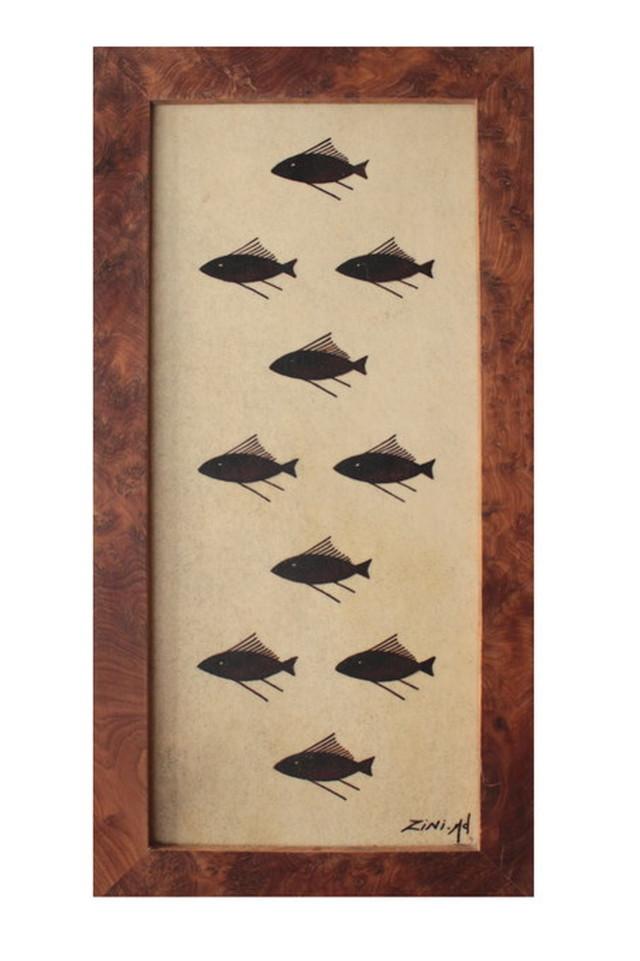 キャメルスキンペインティング [Fish Long]
