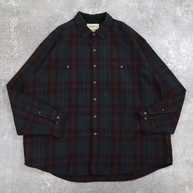 plaid heavy Flannel shirt