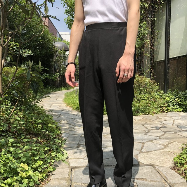 "VINTAGE""BLACK EASY SLACKS"""