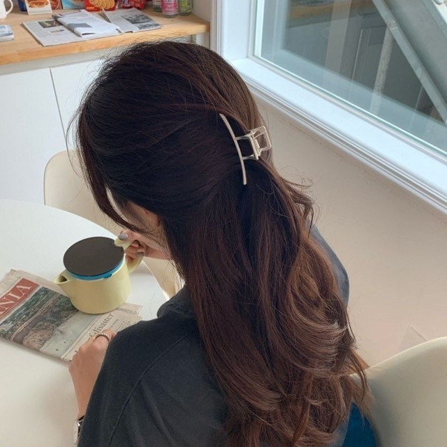 stay hair clip(2 colors)