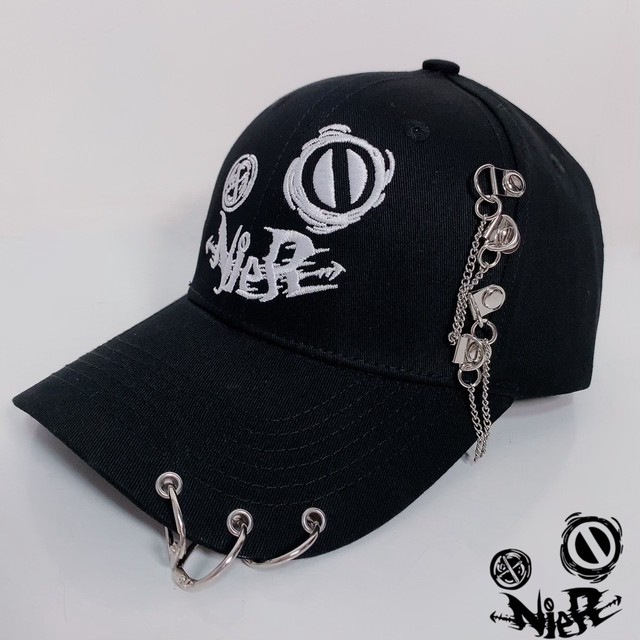NieR CHAIN CAP【DOUBLE LOGO】