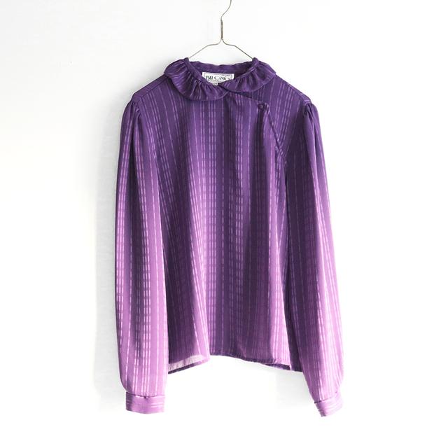 frill collar purple_BL