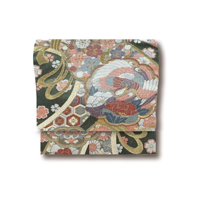 正絹袋帯仕立上り 6-1897