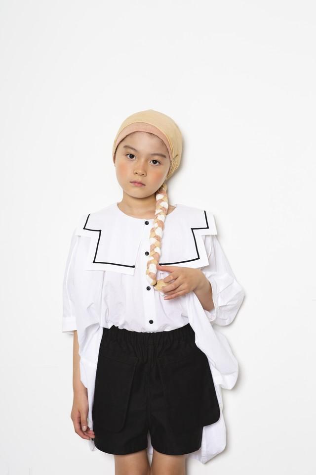 【21SS】folkmade(フォークメイド) sailor collar shirts シャツ white(S/M)