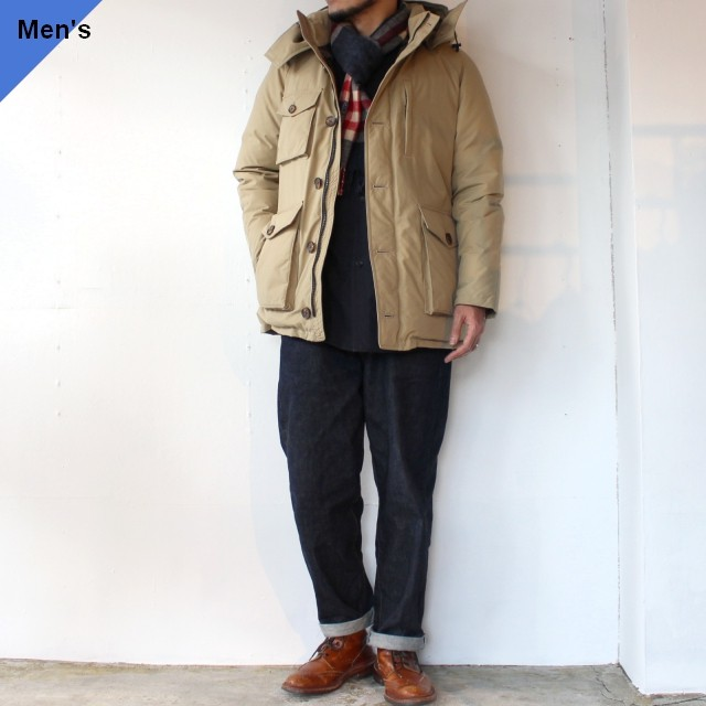 【20-21AW】ZANTER JAPAN ダウンパーカ DOWN PARKA WP-H ベージュ