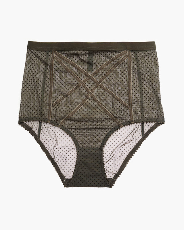 GIGI HIGH WAISTED BRIEF / Lonely