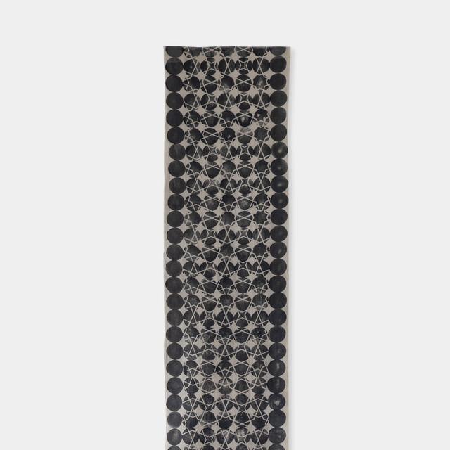 Shiori Mukai Textile 020 向井詩織 ブロックプリント 約36×190cm