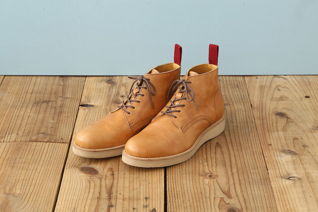 PLAIN TOE CHUKKA (WEDGE SOLE)
